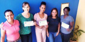 spanish immersion course graduates at estelar