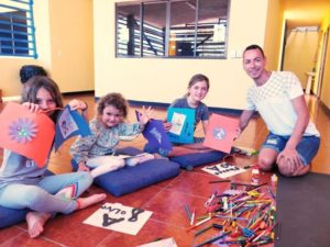 spanish immersion course for kids is fun at estelar